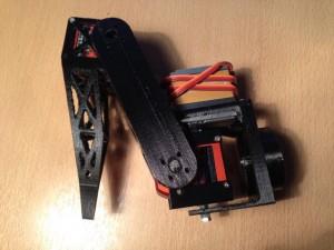 hexapod robot leg